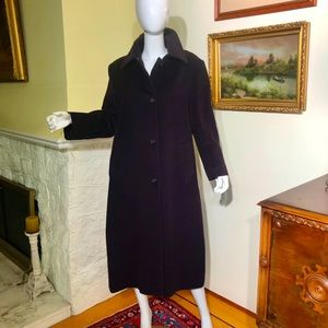 London Fog Wool & Silk Winter Coat